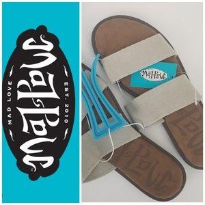 Mad love Sandals elastic